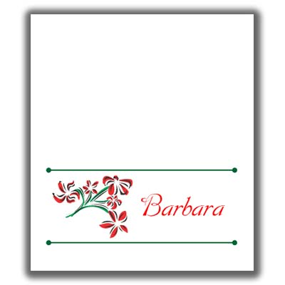 photo regarding Free Printable Christmas Place Cards named Xmas Spot Playing cards