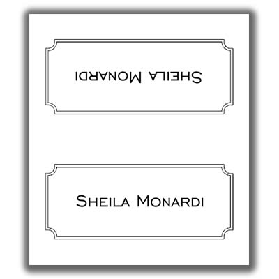 double sided place card template place card template 8