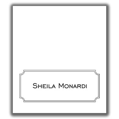 Place Card Template 8