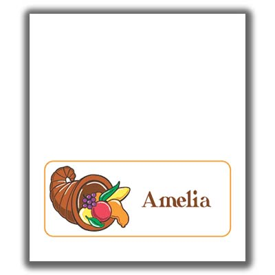 Thanksgiving place cards pronofoot35fo Choice Image